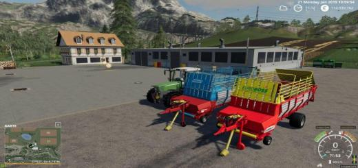 Photo of FS19 – Pottinger Euroboss 330 T V1