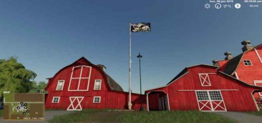 Photo of FS19 – Pow-Mia Usa Eagle Tribute Flag V1