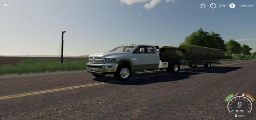 Photo of FS19 – Prairie Bale Trailer V1