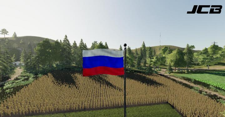 FS19 - Russian Flag V1