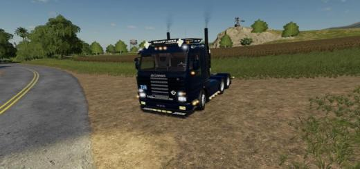 Photo of FS19 – Scania 143 6X4 V1