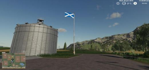 Photo of FS19 – Scotland Flag V1.0.1