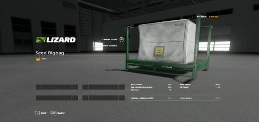 Photo of FS19 – Seed Bags 40000 V1.0.0.4