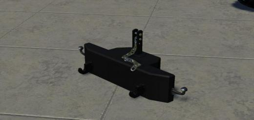 Photo of FS19 – Self Made 700Kg Weight V1