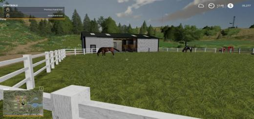 Photo of FS19 – Small American Stable V1