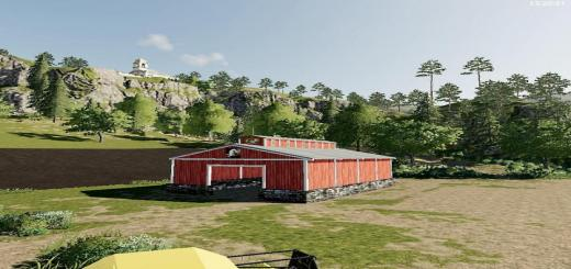 Photo of FS19 – Small Open Ended Storage Barn V1