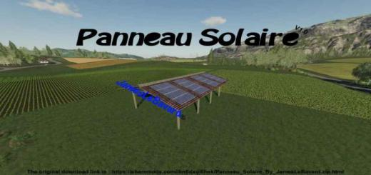 Photo of FS19 – Solar Shed V1
