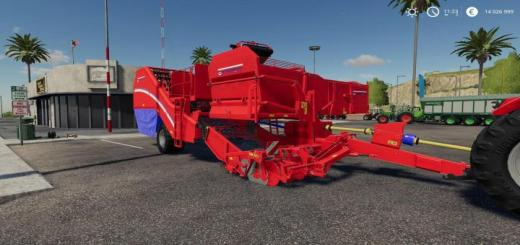 Photo of FS19 – Stacmec Harvester Ab23S V1.1