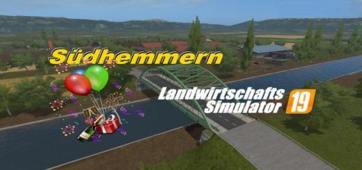 Photo of FS19 – Suedhemmern Map V1.1