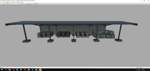 Photo of FS19 – Supplies Shed V1