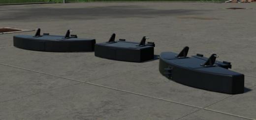 Photo of FS19 – Tenwinkel Rearweights Package V1