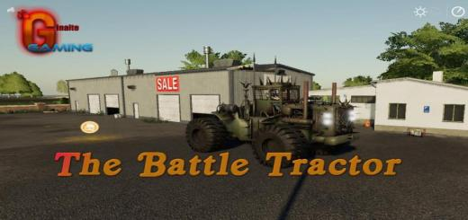 Photo of FS19 – The Battle Tractor V1