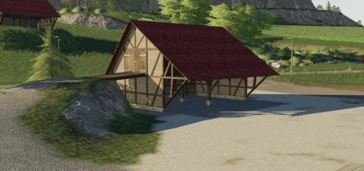 Photo of FS19 – Timberframe Barn With Attic V1.0.0.1