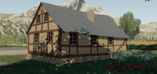 Photo of FS19 – Timberframe House V1.0.0.1