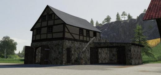 Photo of FS19 – Timberframe House With Shed V1.0.0.2