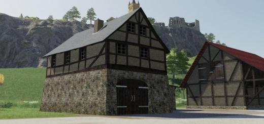 Photo of FS19 – Timberframe House With Shed V1.0.0.4