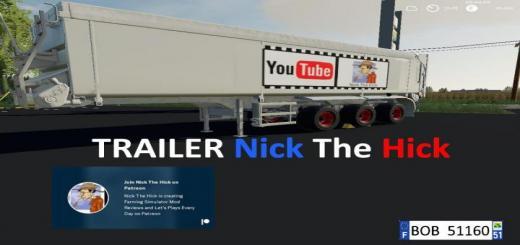 Photo of FS19 – Trailer Nick The Hick V1.0.0.2