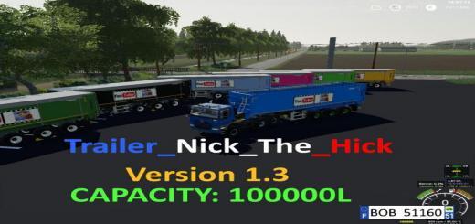 Photo of FS19 – Trailer Nick The Hick V1.0.0.3