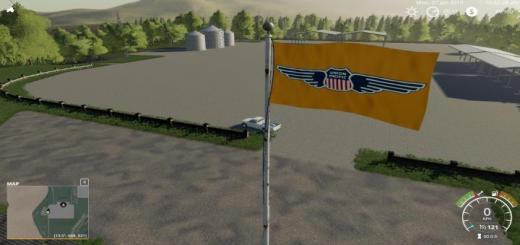 Photo of FS19 – Tribute Union Pacific Flag V1