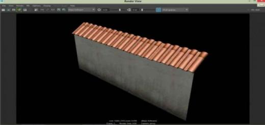 Photo of FS19 – Wall Fence V1