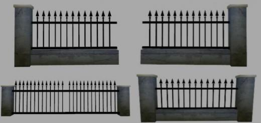 Photo of FS19 – Wall With Fence V1