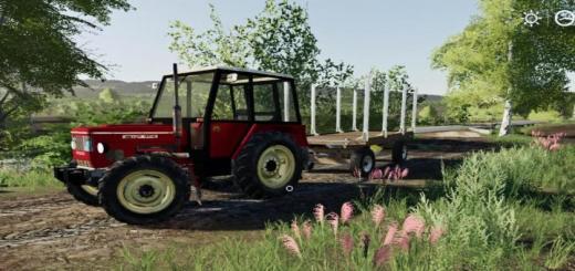 Photo of FS19 – Zetor 5748 Blue Tractor V1