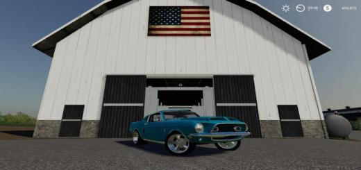 Photo of FS19 – 1968 Mustang V8 V2.2