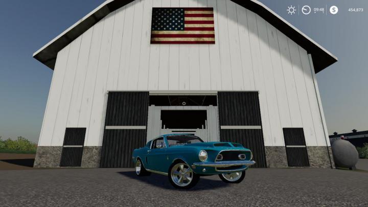 FS19 - 1968 Mustang V8 V2.2