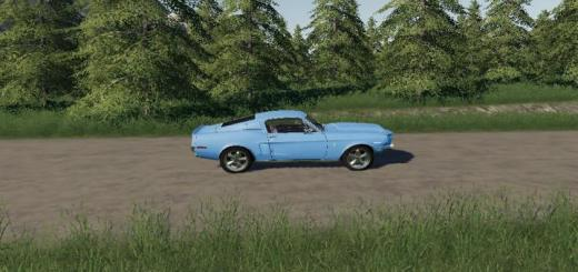Photo of FS19 – 1968 Shelby Gt500 V2.2