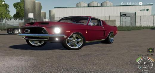 Photo of FS19 – 1968 Shelby Mustang V8 Flathead V2