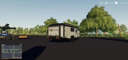 Photo of FS19 – Adak Off Road Camper Map V1