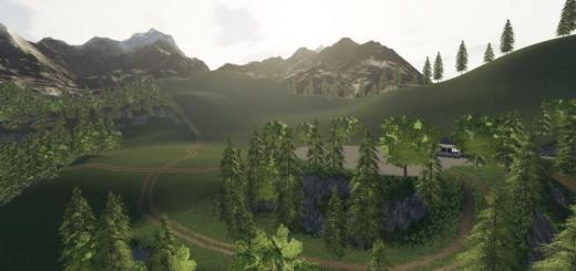 Photo of FS19 – Alps Panorama At The Northern Sea V1