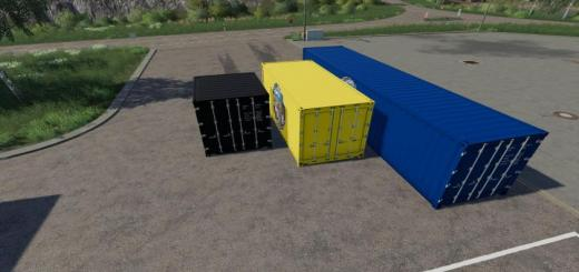 Photo of FS19 – Atc Container Pack V1.2