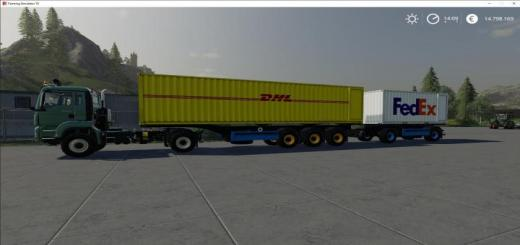 Photo of FS19 – Atc Container Transportation Pack V1.3