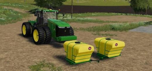 Photo of FS19 – Big John Front Tanks For Custom\'s 9R V1.0.1