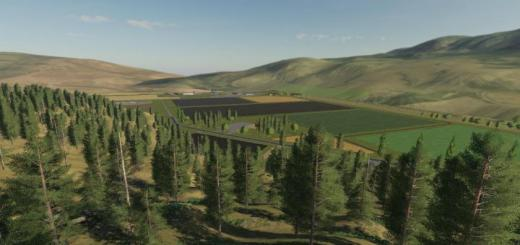 Photo of FS19 – Black Mountain Montana Map V1.1