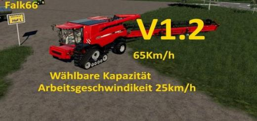 Photo of FS19 – Case Axial 9240 With Capacity Option And Working Speed 25Km/h V1.2