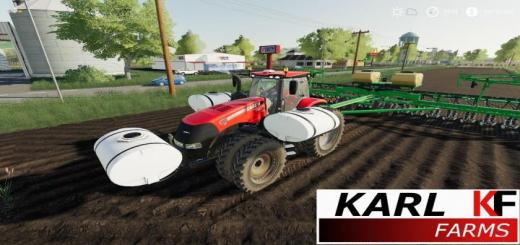 Photo of FS19 – Case Ih Magnum Us W/helicopter Tanks V1.2