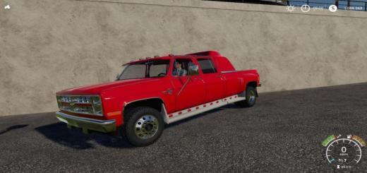 Photo of FS19 – Chevrolet Silverado C30 Quad Cab Dually V1