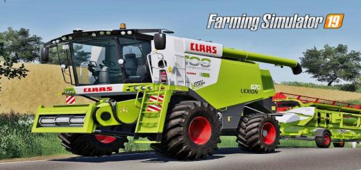 Photo of FS19 – Claas Lexion 670 Pack V1