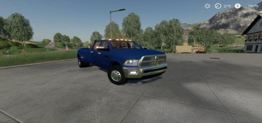 Photo of FS19 – Dodge Ram 3500 Dually V2.0