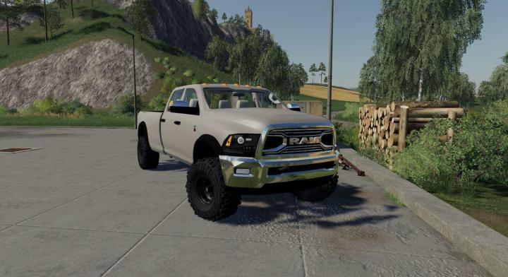 FS19 - Dodge Ram 3500 Srw Wip V1