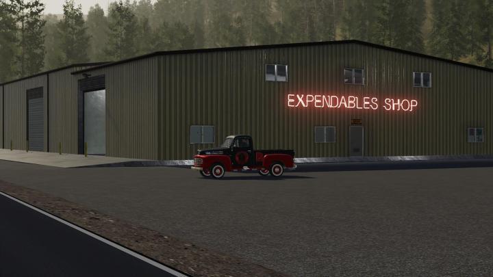 FS19 - Exp19 Shop V1