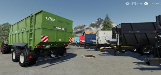 Photo of FS19 – [Fbm Team] Fliegl Alu-Tec Asw281 V1