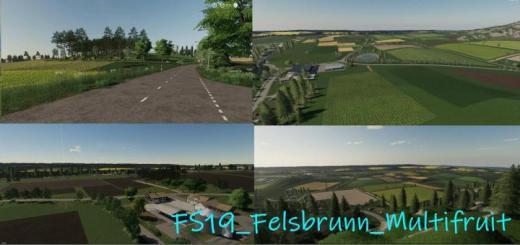 Photo of FS19 – Felsbrunn Multifruit Final V1.0.0.2