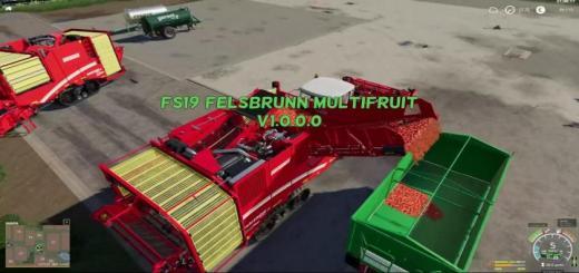 Photo of FS19 – Felsbrunn Multifruit Map V1