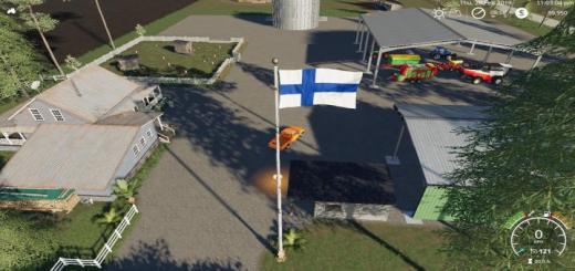 Photo of FS19 – Finland Flag V1