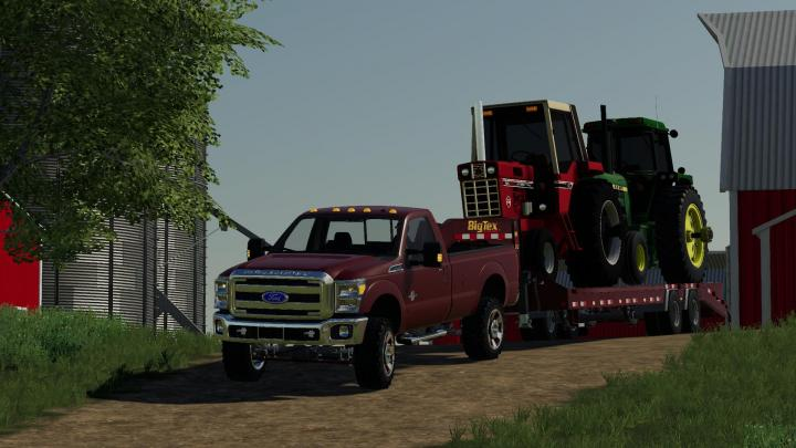 FS19 - Ford F350 Regular Cab 2011 V1