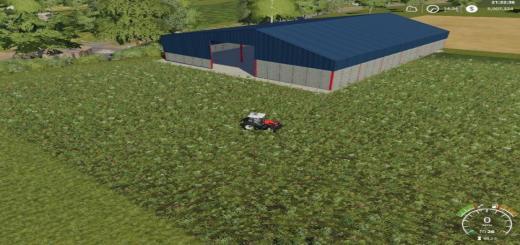Photo of FS19 – Grain Storage Shed V1
