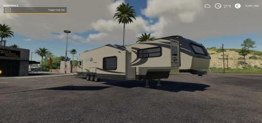 Photo of FS19 – Grizzly Creek Toy Hauler V1